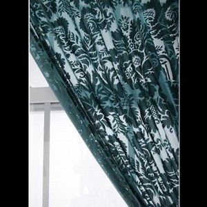 Urban Outfitters Accents - Urban outfitters damask burnout velvet curtain